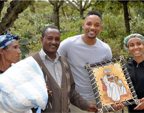 Will and Jada Smith Bring Clean Water to Ethiopia