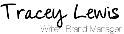 Tracey Lewis | Blog